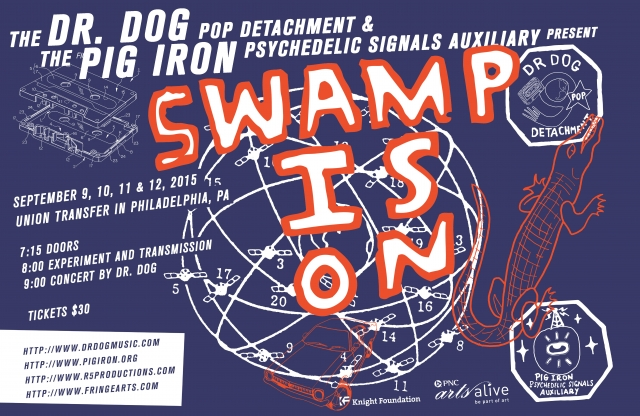 Pig Iron joings forces with Dr. Dog and presents SWAMP IS ON