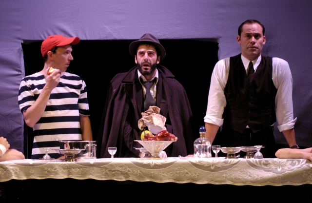 Pig Iron Theatre Company's production of Hell Meets Henry Halfway