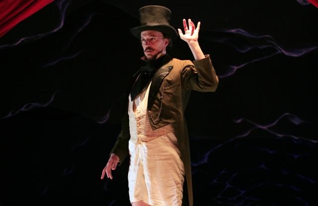 Pig Iron Theatre Company's production of Chekov Lizardbrain